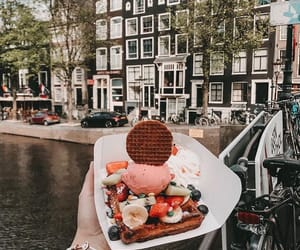 amsterdam, fruit, and bakery image