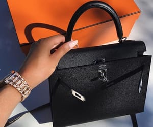 bag, luxury, and hermes image