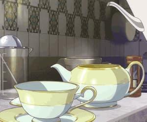 animation, anime, and tea image