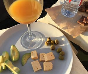 avocado, cheese, and olives image