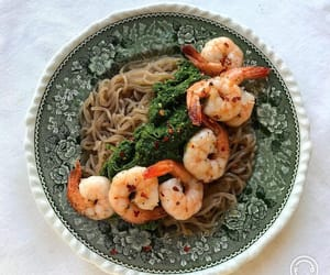 asian, bowl, and dishes image