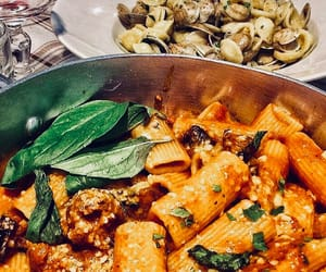 food, italy, and mozzarella image