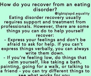 anorexia, ed, and bulimia image