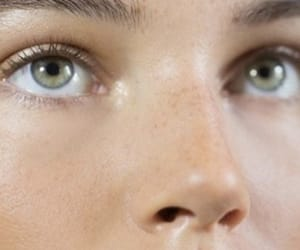 freckles, green, and nose image