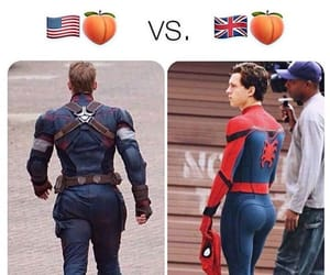 ass, captain america, and Avengers image