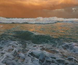 nature, sea, and ocean image