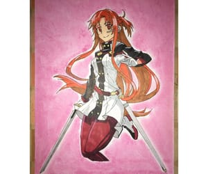 anime, disegno, and sword art online image