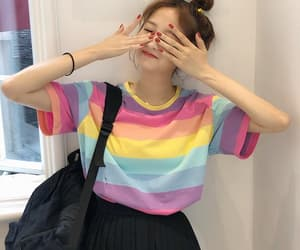 korea, large, and rainbow image