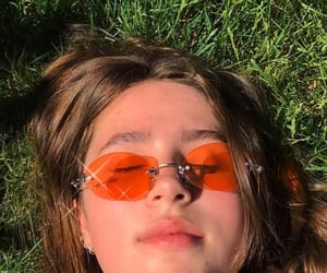 aesthetic, clairo, and orange image