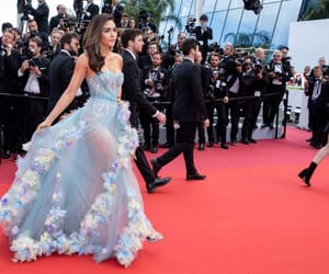 cannes, araya hargate, and dress image
