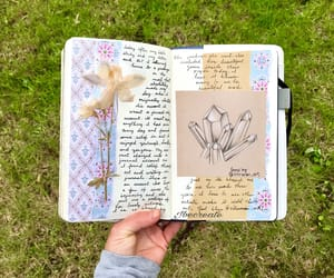 diary, journaling, and journals image