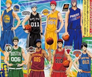 anime, handsome, and kuroko no basket image