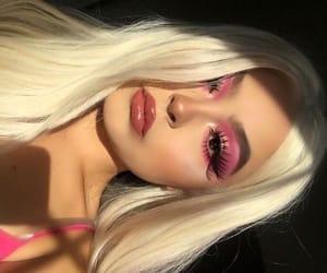 glitter, makeup, and shining image