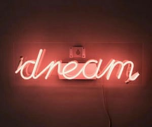Dream, neon, and neon lights image