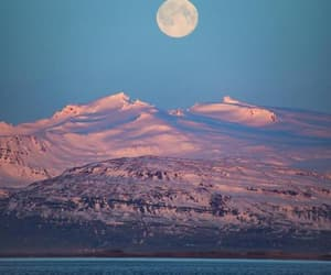 adventure, moon, and pink image