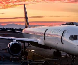 aeroplane, freedom, and photography image