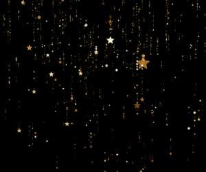 beautiful, falling stars, and gif image