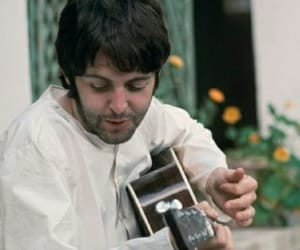 music, Paul McCartney, and the beatles image