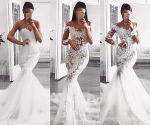 dress, random, and white image