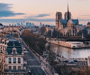 city, travel, and france image