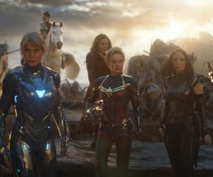 rescue, valkyrie, and captain marvel image