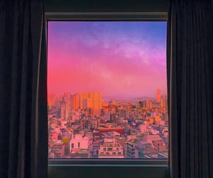 aesthetic, sky, and city image