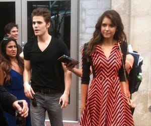tvd, paulwesley, and dobsley image