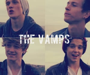 the vamps, connor ball, and bradley will simpson image