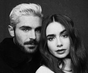 zac efron, lily collins, and actor image