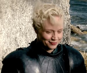 gif, game of thrones, and brienne of tarth image