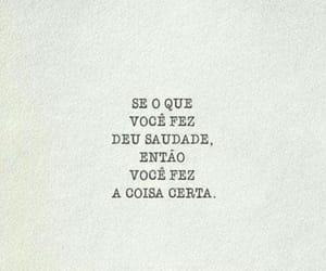 poesia, saudade, and frases image