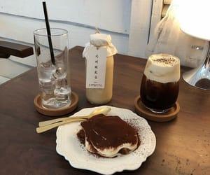 aesthetics, beige, and cafe image