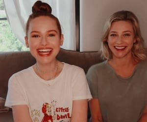 riverdale, lili reinhart, and madelaine petsch image