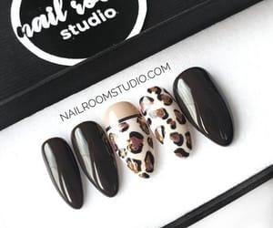 animal nail art, fashionable nails, and press on nails sale image