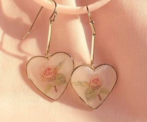 accesories, hearts, and pale image
