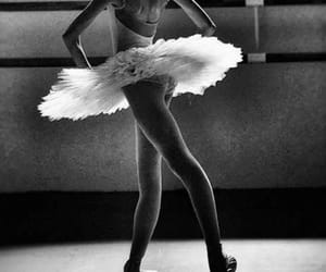 ballerina, beauty, and black and white image