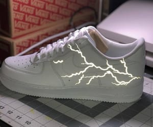 AF1, custom shoes, and lightening image