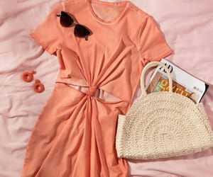 clothes, magazine, and purse image