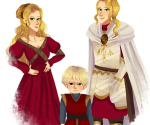illustration, cersei lannister, and lysa tully image
