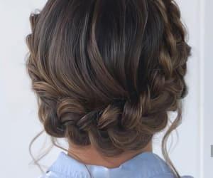 braids, design, and hair image