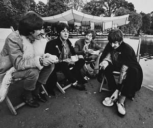 1967, bands, and black and white image
