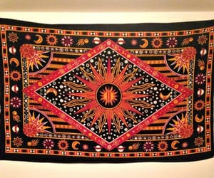 etsy, wall hanging, and tie dye tapestry image