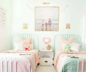colorful, girly bedroom, and cute image
