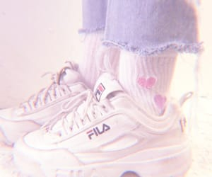 shoes, Fila, and grunge image
