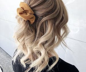 curls, hair, and hair style image