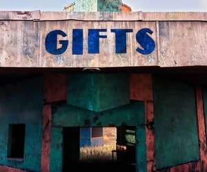 abandoned, gifts, and amusement park image