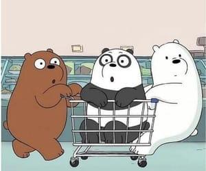 cartoon, wallpaper, and we bare bears image