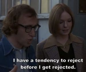 quotes, woody allen, and reject image