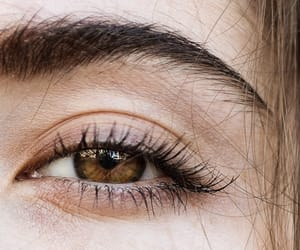 accessories, brown eyes, and chic image