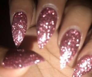 nails, pink, and nails inspiration image